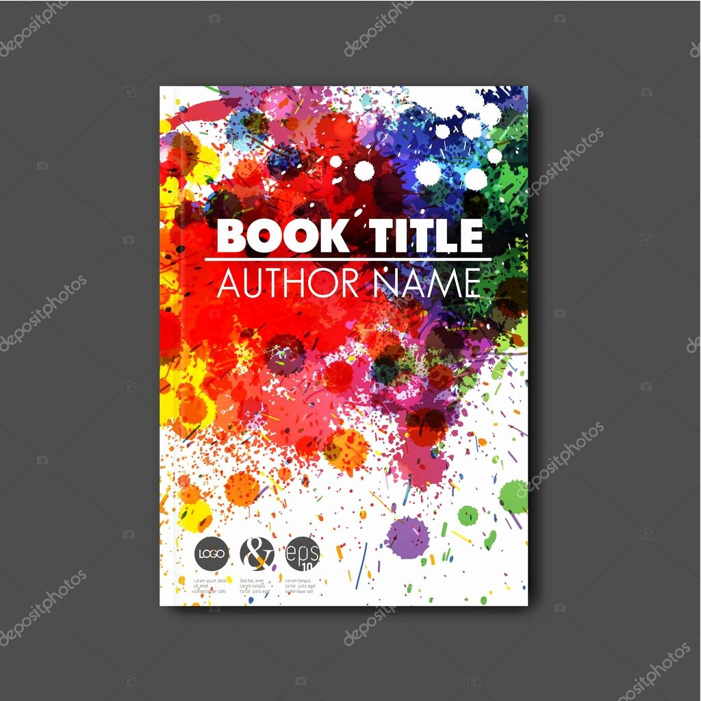 Book Cover Template Illustrator Elegant Modern Abstract Book Cover Template — Stock Vector © orson