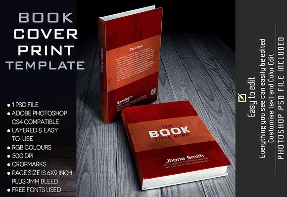 Book Cover Template Photoshop Lovely Shop Create Vintage Book Cover Designtube