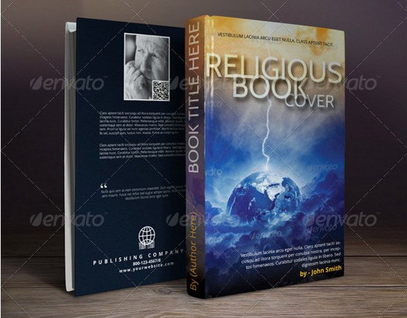 Book Cover Template Psd Awesome 54 Book Cover Design Templates Psd Illustration