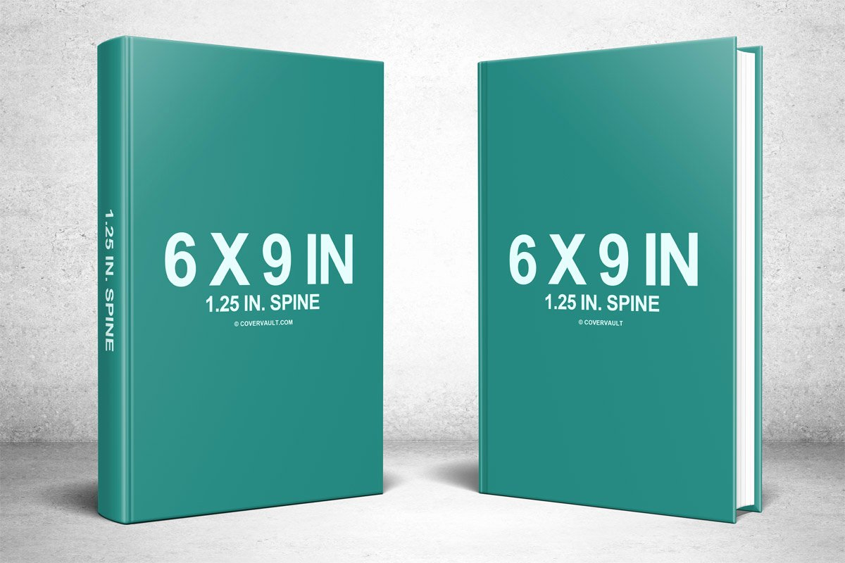 Book Cover Template Psd Awesome Two 6 X 9 Hardcovers Standing Psd Mockup Covervault