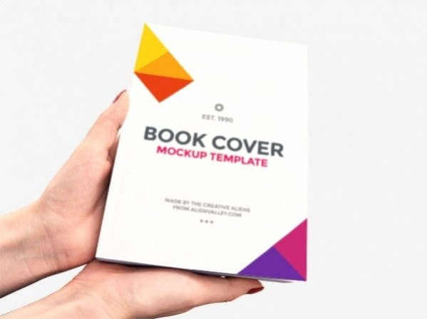 Book Cover Template Psd Fresh 30 Book Cover Mockup