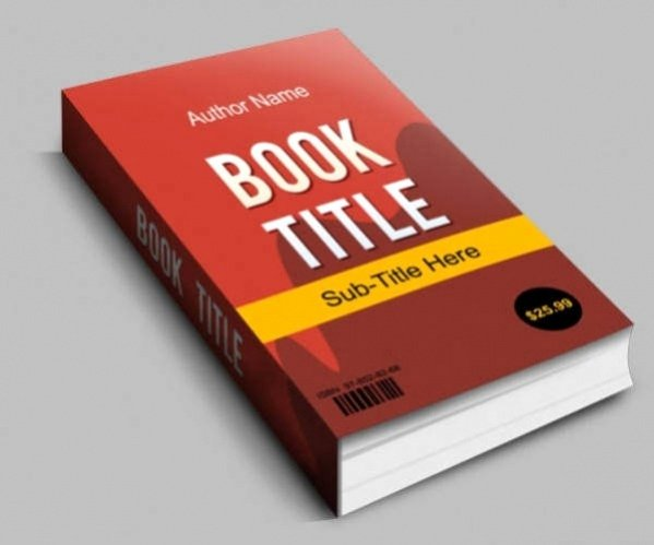 Book Cover Template Psd Inspirational 30 Book Cover Mockup