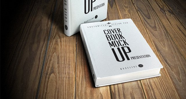 best book cover psd mockups