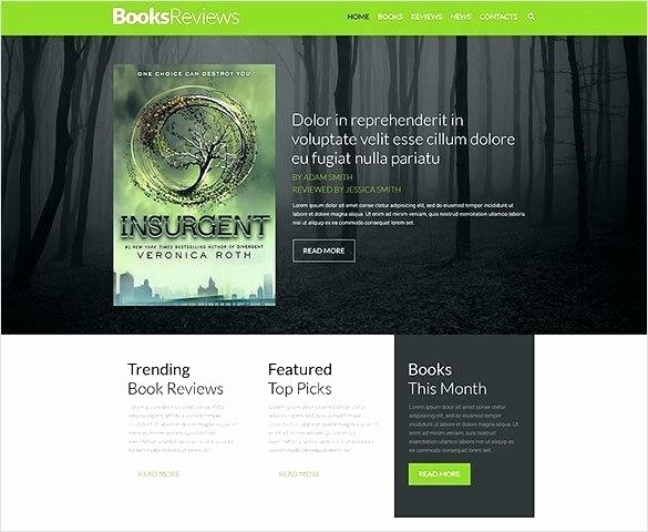 Book Landing Page Template Awesome Ic Website Template – Shanon