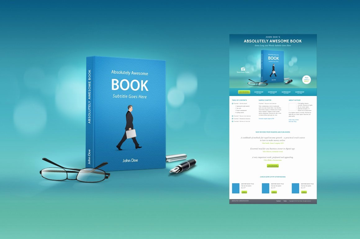 Book Landing Page Template Fresh Book Marketing Landing Page Template Website Templates