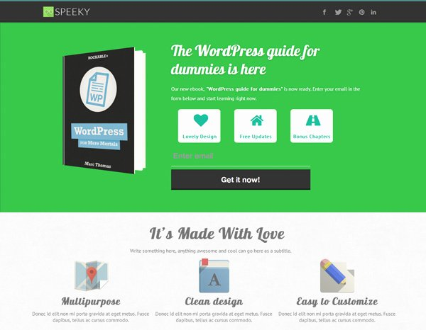 Book Landing Page Template Lovely Create Landing Pages Using Wordpress