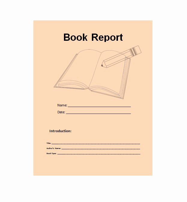 Book Report Outline Template Fresh 30 Book Report Templates & Reading Worksheets