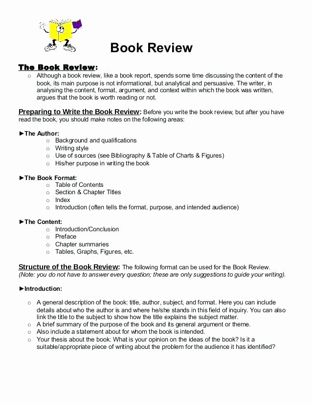 Book Review Template Pdf Best Of Report Sample Essay Example Fundamentals College Book