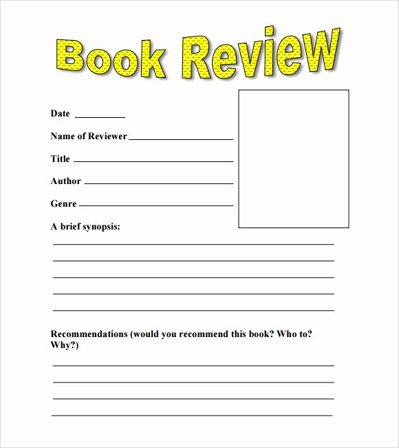 Book Review Template Pdf Luxury 10 Book Review Templates Pdf Word