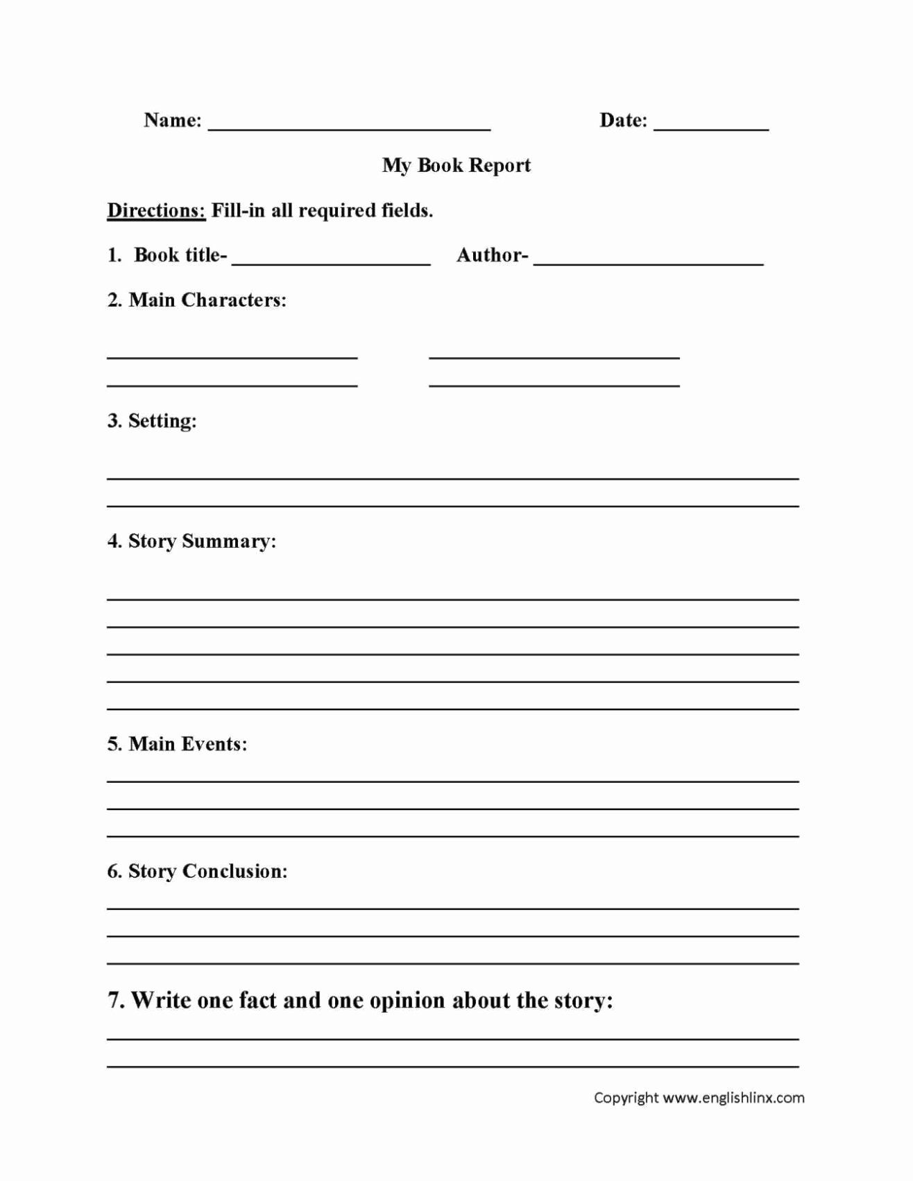 Book Review Template Pdf Unique Student Book Review Template Sampletemplatess