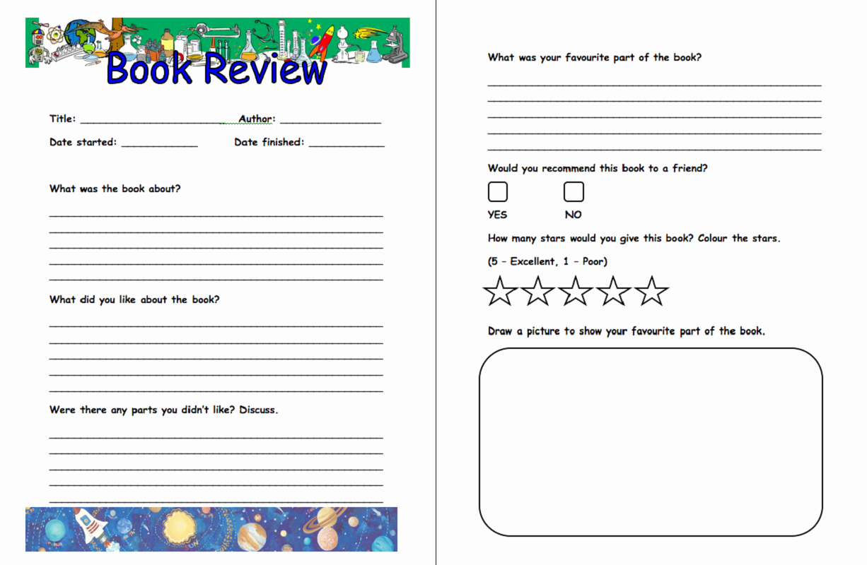 Book Template for Kids Best Of Free and Printable Templates for Kids