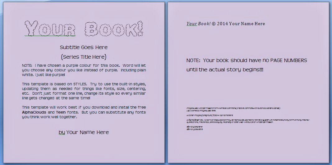 Book Template for Kids Inspirational Free Children S Book Template Signup Write Kids Books
