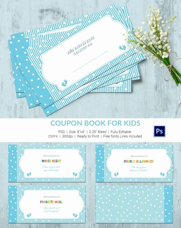 Book Template for Kids New 45 Coupon Book Templates Free Psd Ai Vector Eps