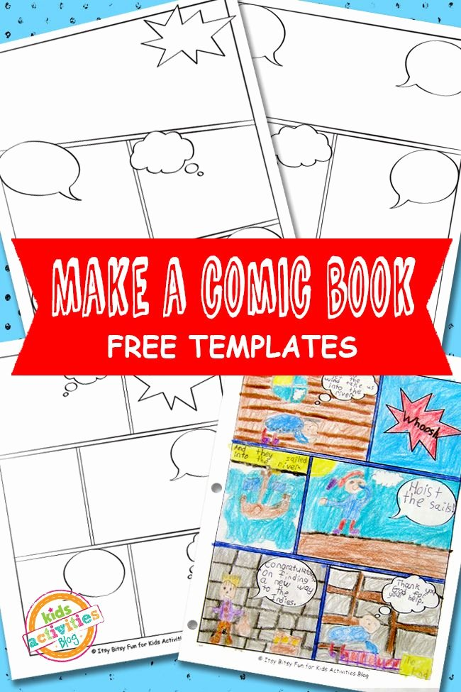 Book Template for Kids New Ic Book Templates Free Kids Printable