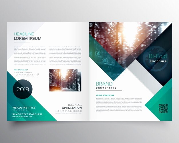 Booklet Template Free Download Beautiful Green Business Brochure Template Vector