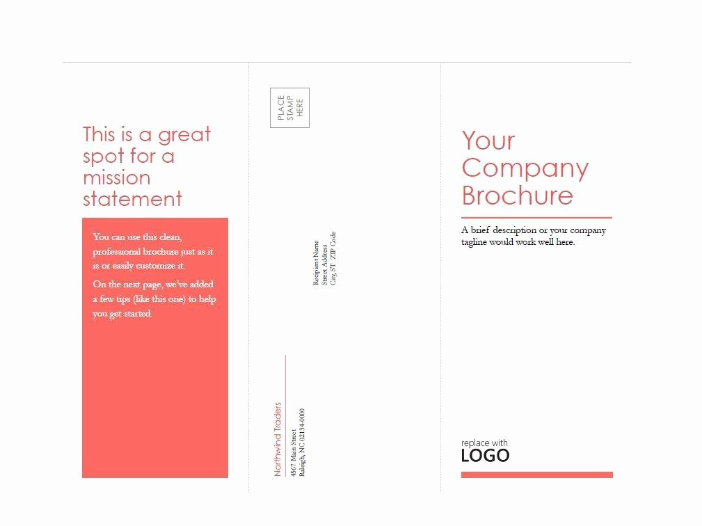 Booklet Template Free Download Lovely 31 Free Brochure Templates Ms Word and Pdf Free
