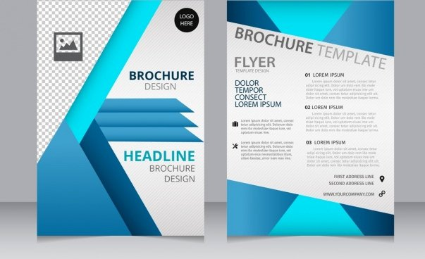 Booklet Template Free Download Lovely Pages Template Brochure Csoforumfo