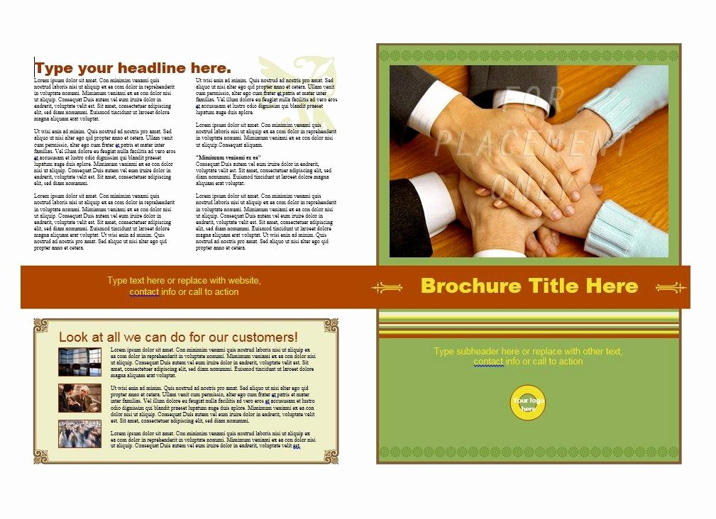 Booklet Template Free Download New 31 Free Brochure Templates Ms Word and Pdf Free