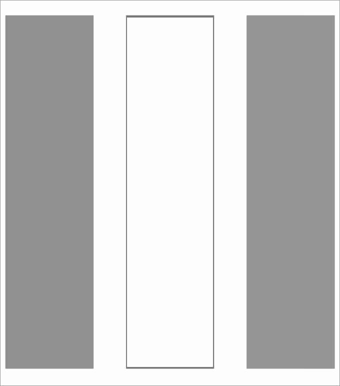 Bookmark Template for Word Awesome Blank Bookmark Template 135 Free Psd Ai Eps Word