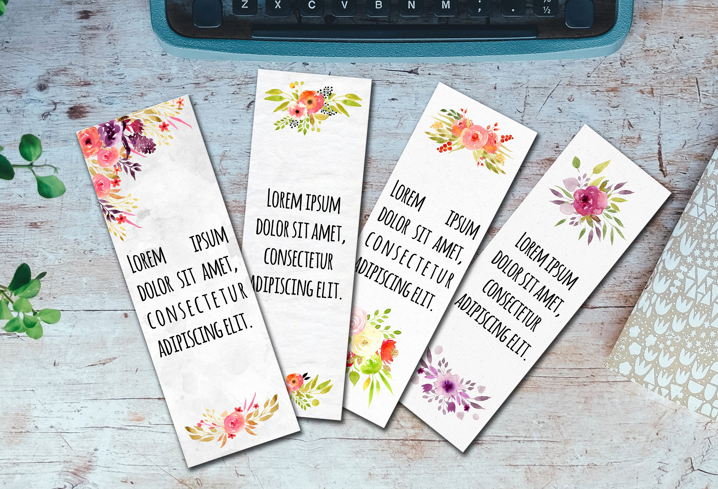 Bookmark Template for Word Awesome Editable Bookmarks Template Word Bookmarks Template Editable