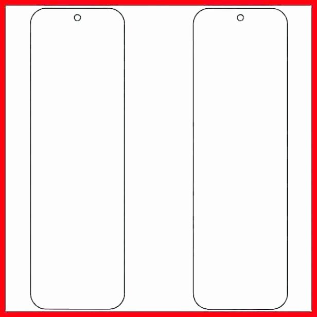 Bookmark Template for Word Luxury Printable Bookmark Template Word – Threestrands