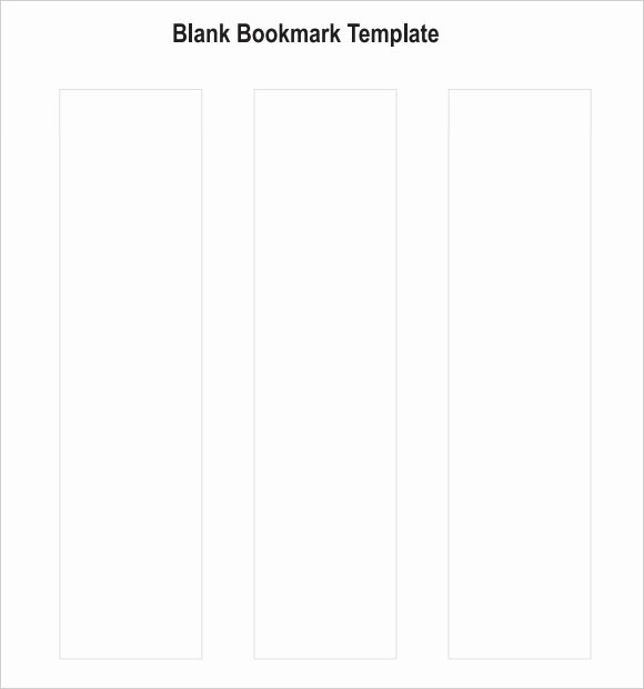 Bookmark Template for Word New Blank Bookmark Template 7 Download Documents for Pdf Word