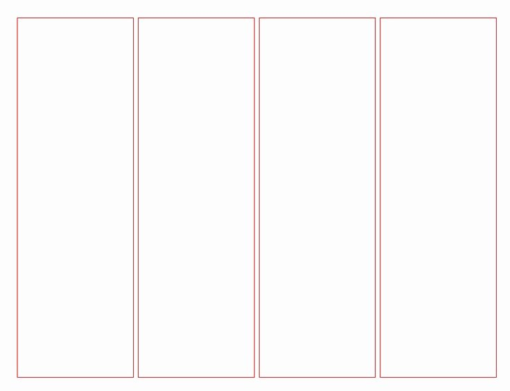 Bookmark Template for Word New Blank Bookmark Template for Word