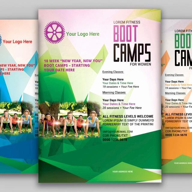 Boot Camp Flyer Template Best Of Fitness Boot Camp Flyer Template for Free Download On Tree