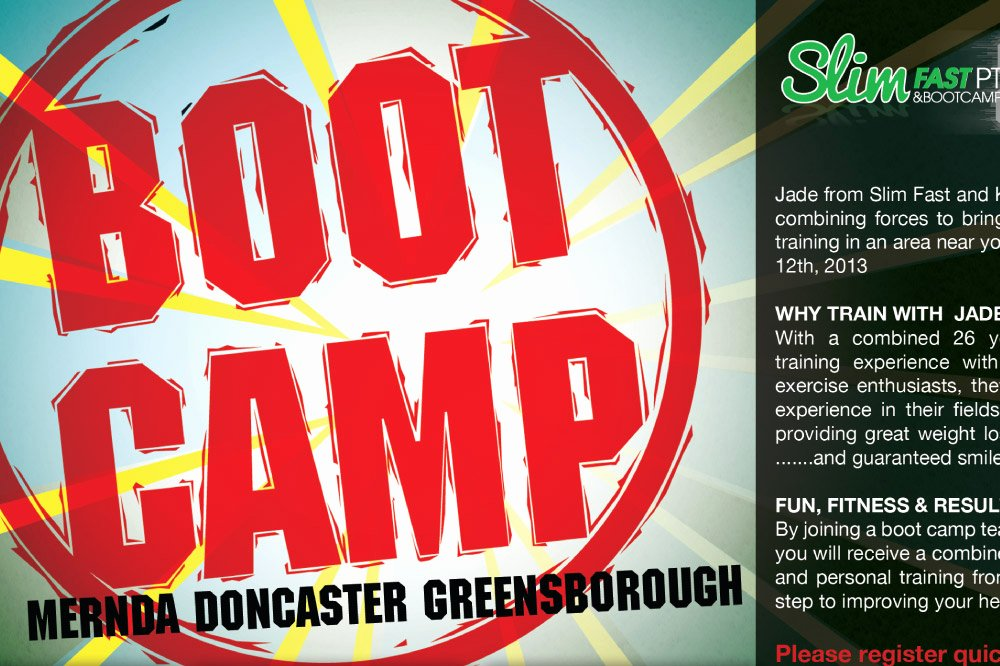 Boot Camp Flyer Template Best Of Jimmy Rockliff Does Design
