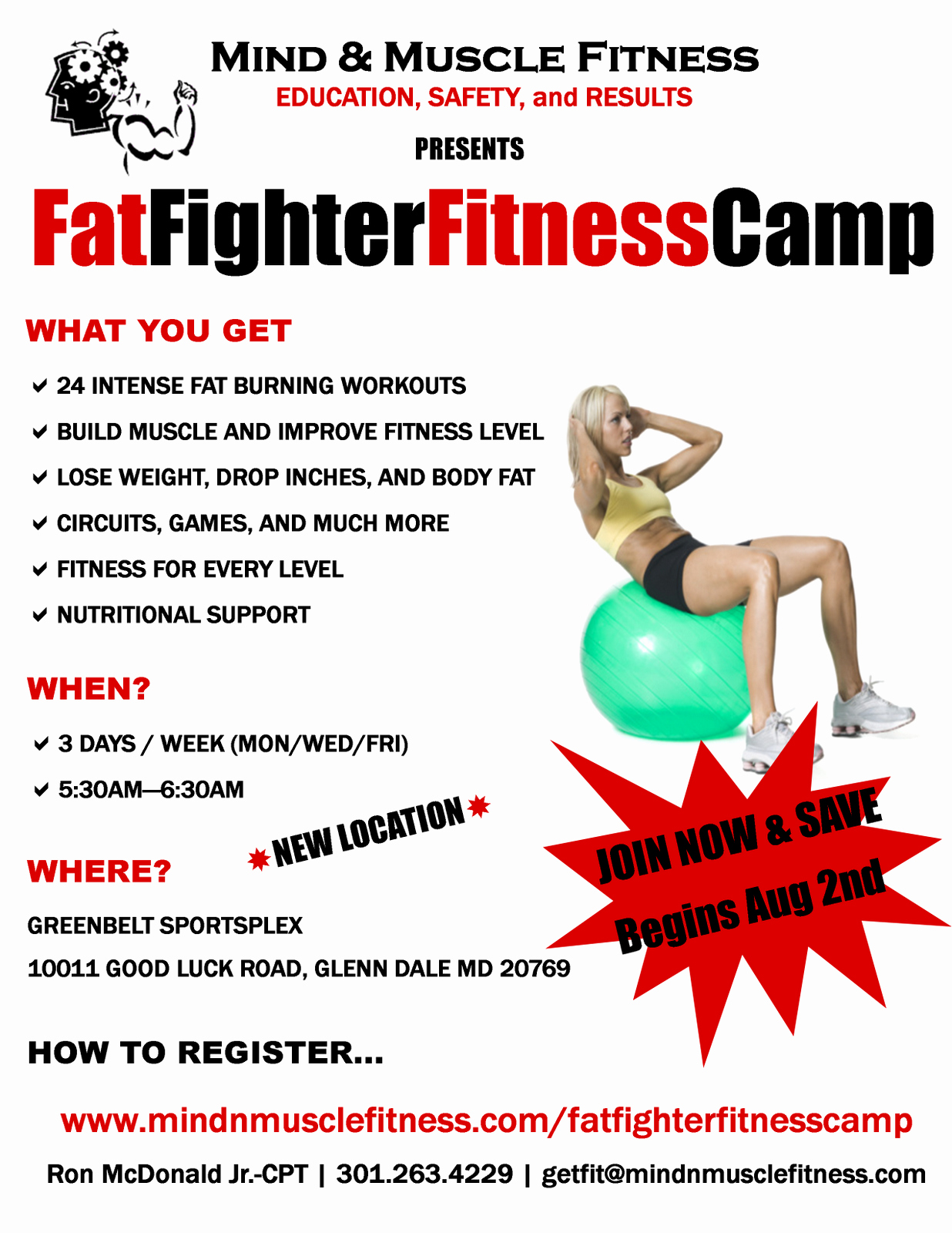 Boot Camp Flyer Template Best Of M1074