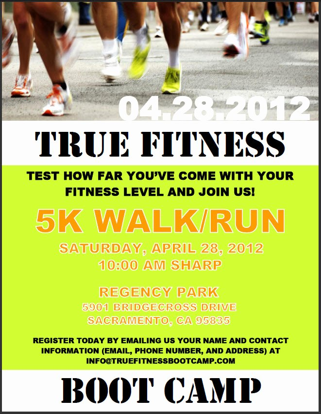 Boot Camp Flyer Template Best Of Natural Nutrition True Fitness Boot Camp Spring K Ru with