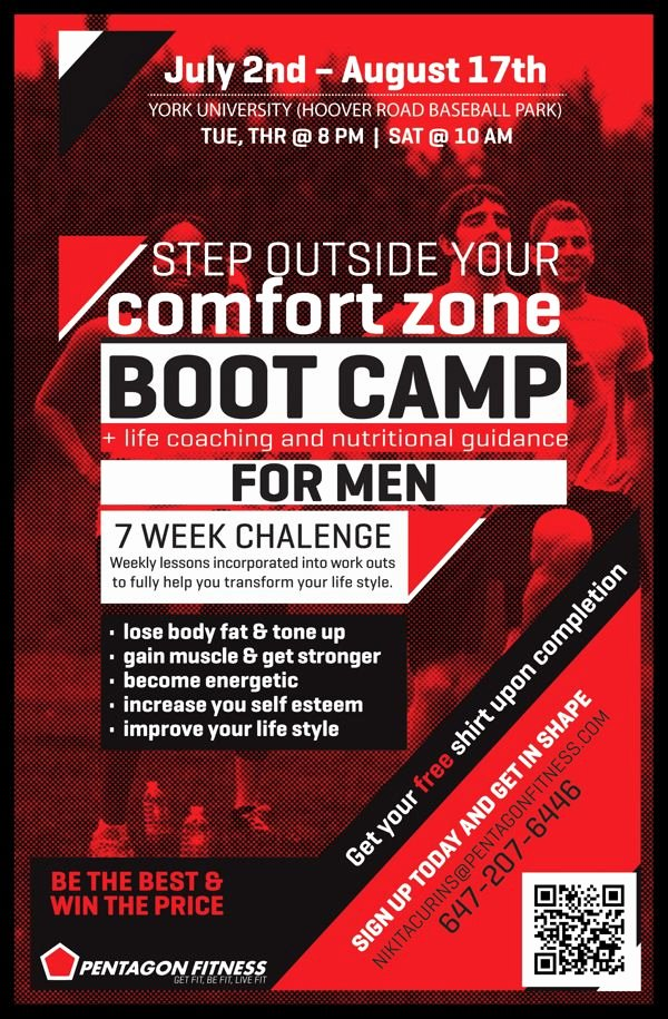 Boot Camp Flyer Template Best Of Pentagon Fitness Bootcamp Flyers