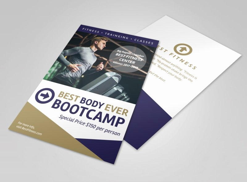 Boot Camp Flyer Template Fresh Sports Camp Flyer Templates