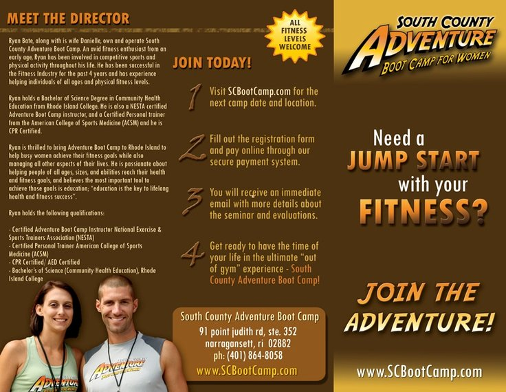 Boot Camp Flyer Template New 13 Best Images About Camp Brochure On Pinterest