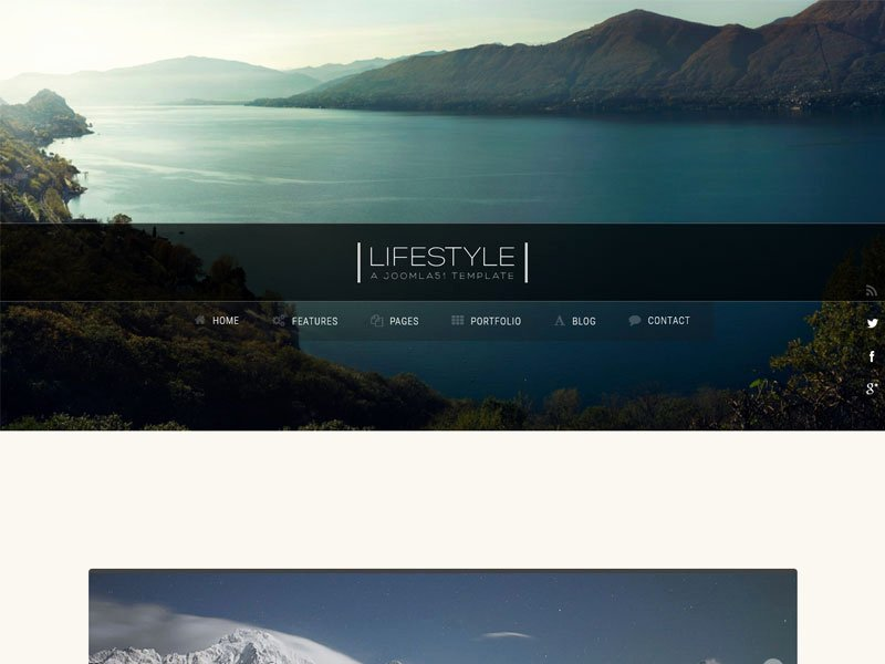 Bootstrap Blog Template Free Awesome Lifestyle Blog Free Bootstrap Template