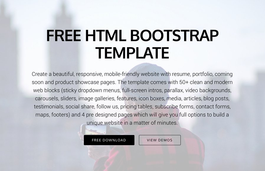 Bootstrap Blog Template Free Beautiful 10 Most Promising Free Bootstrap 4 Templates for 2017