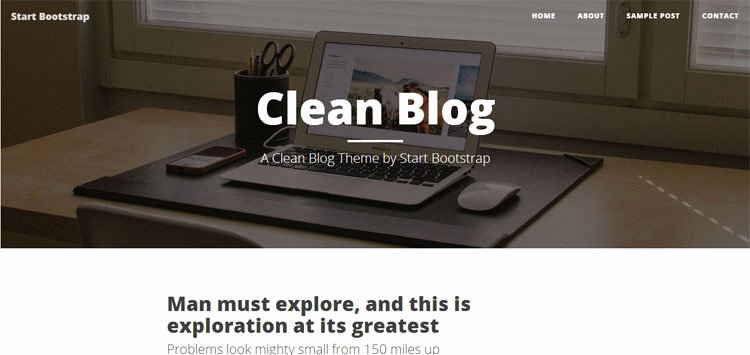 Bootstrap Blog Template Free Best Of 12 Free & Premium Bootstrap Blogger Templates