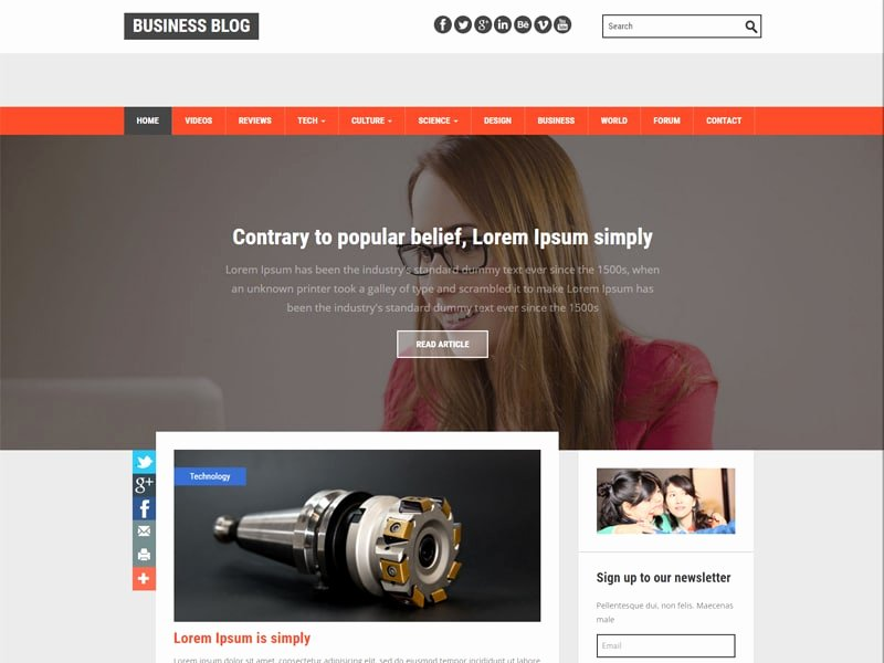Bootstrap Blog Template Free Best Of top 10 Best Free Bootstrap Templates for Blog In 2016