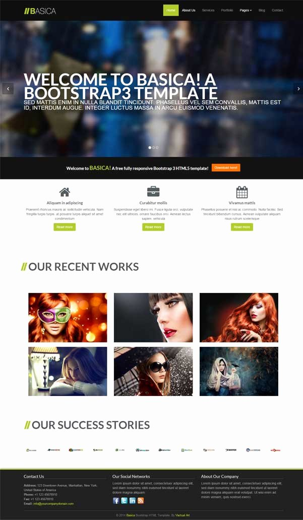 Bootstrap Blog Template Free Luxury 30 Bootstrap Website Templates Free Download