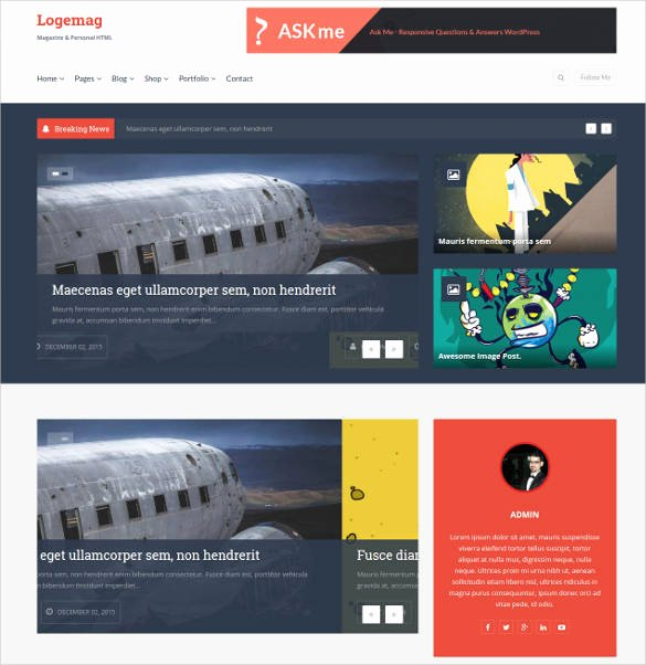 Bootstrap Blog Template Free Luxury 35 Bootstrap Blog themes & Templates