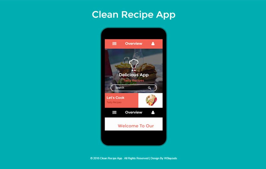Bootstrap Mobile App Template Beautiful Mobile App Website Templates Designs Free
