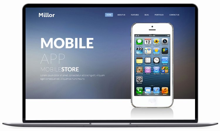 Bootstrap Mobile App Template Best Of 50 Free Responsive Website Templates Built with Bootstrap