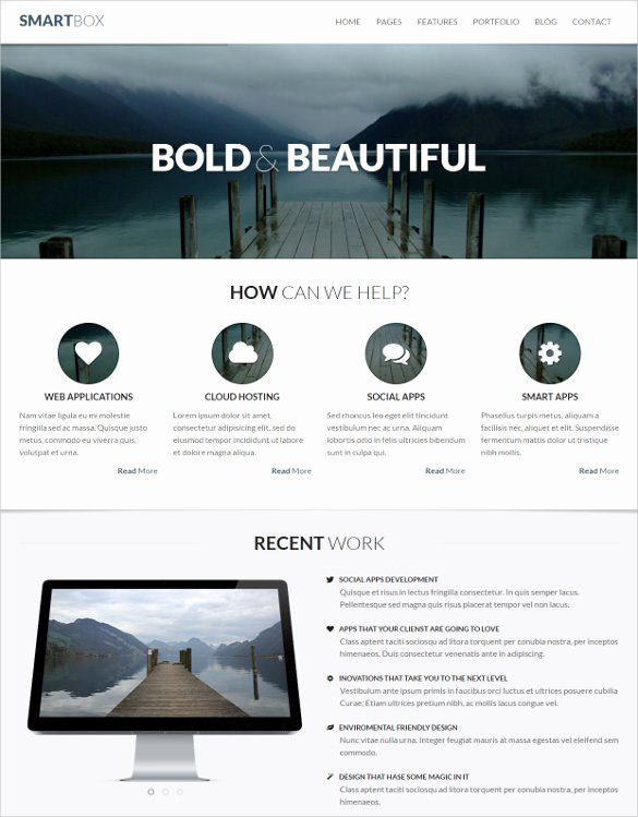 Bootstrap Mobile App Template Elegant 36 Mobile Bootstrap themes & Templates