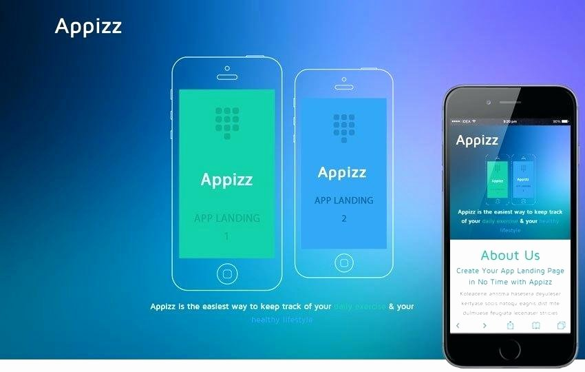 Bootstrap Mobile App Template Elegant App Template Free Download Responsive Bootstrap Mobile Web