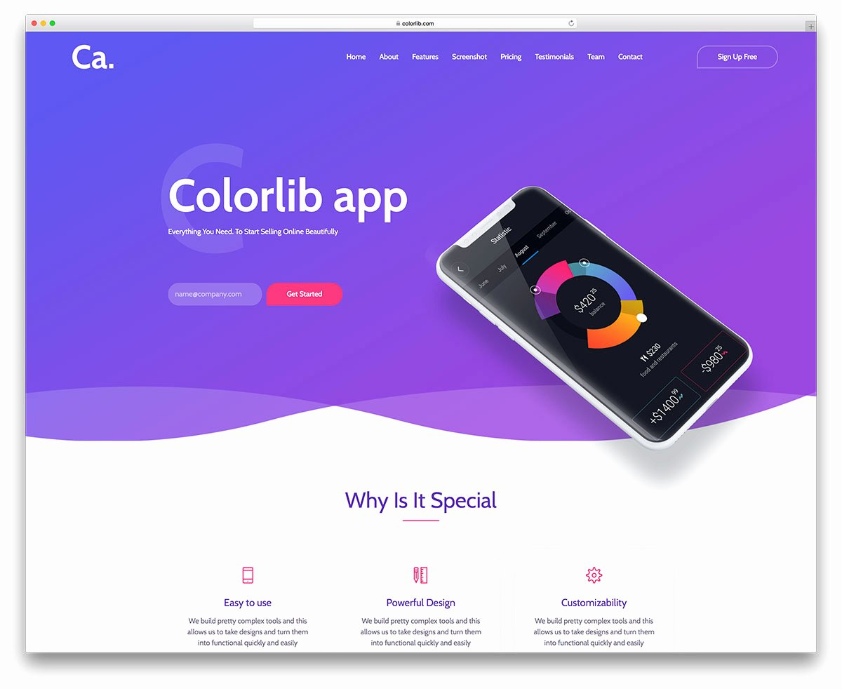 Bootstrap Mobile App Template Inspirational 33 Best Free Bootstrap Landing Page Templates with Modern