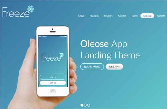 Bootstrap Mobile App Template Inspirational 83 Free Bootstrap themes & Templates