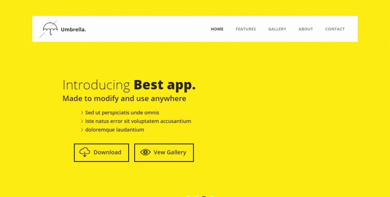 Bootstrap Mobile App Template Luxury 7 Bootstrap Mobile Templates & themes
