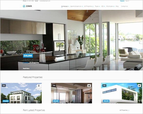 Bootstrap Real Estate Template Beautiful 20 Real Estate Bootstrap themes & Templates