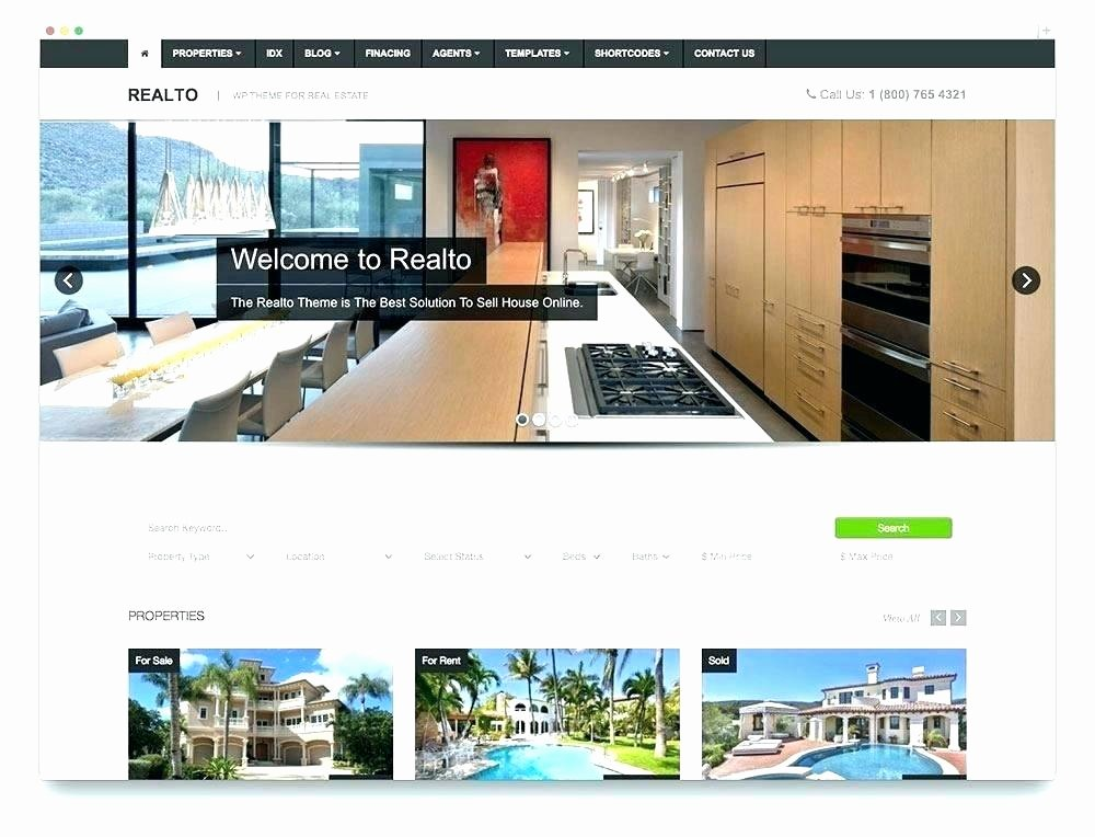 Bootstrap Real Estate Template Elegant Bootstrap 4 Real Estate Template Free Templates – Wapuymfo