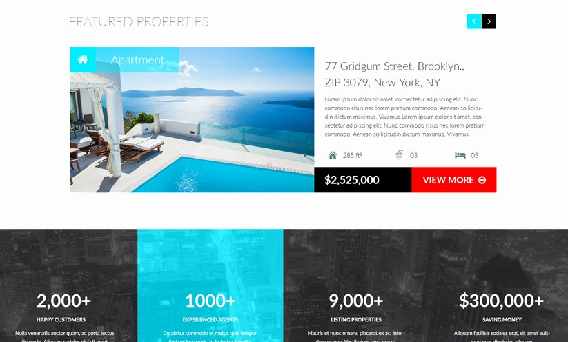 Bootstrap Real Estate Template Elegant Realestate Bootstrap Template Id From